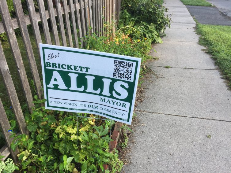 """The Greenfield Leek: Campaign Signs Cause a Stir Among """"Our"""" Community; QR Code Holds Key"""