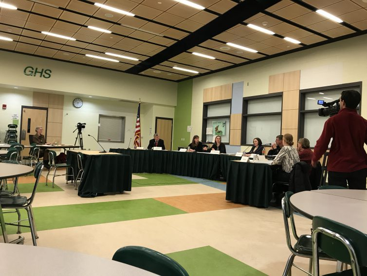Summarizing Wednesday night's School Committee meeting